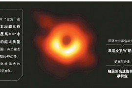 第一张黑洞照片揭示黑洞真容,图片背后的知识你了解多少?
